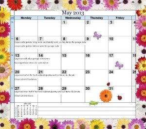 May2013HomemakingPlan