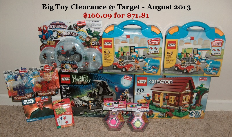 Target Toys For Boys Legos : Target summer toy clearance finds thrifty texas penny