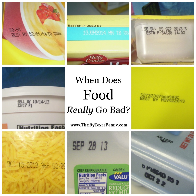 when does food go bad