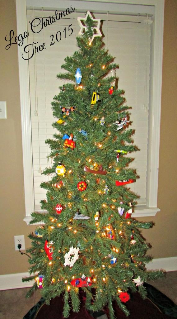 2015 Lego Christmas Tree