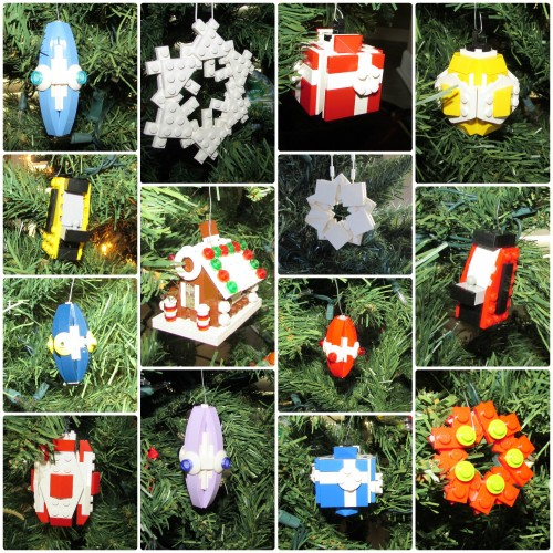 Lego Ornament Designs by Chris McVeigh